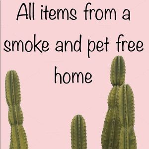 Other - All items are from a smoke and pet free home!